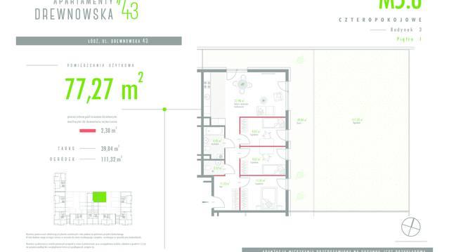 Apartamenty Drewnowska 43 II
