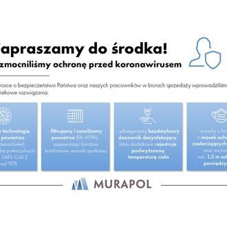 Rozwiązania anty COVID-19 w Grupie Murapol