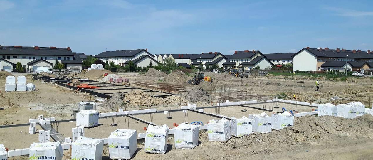 Budowa osiedla Rodzinne Komorniki rozpoczęta