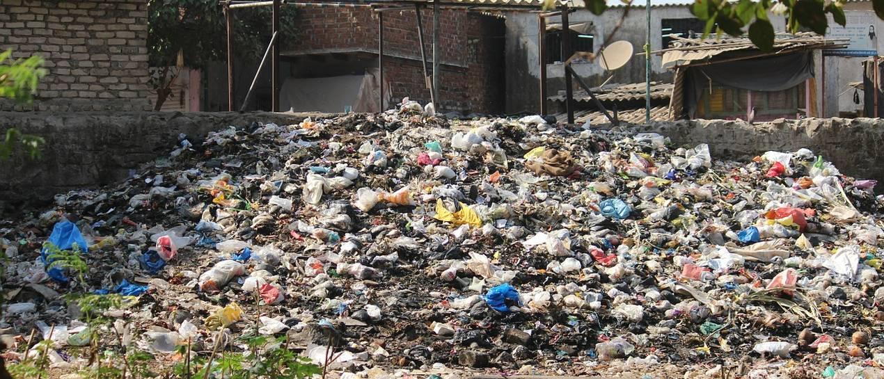 Odpady na działce