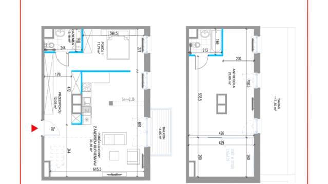 Mieszkanie w Osiedle omianki - 1 pokj, 63 m, 3 pitro