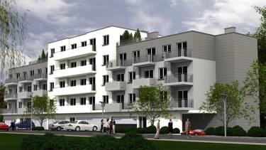 Inwestycja przy ulicy Powstańców