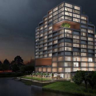 Nordic Haven – pierwszy szklany apartamentowiec w centrum Bydgoszczy