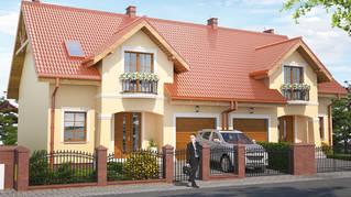 Domy w Mokronosie