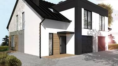 Domy w zabudowie bliźniaczej w Łochowie