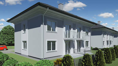 Domy w zabudowie bliźniaczej w Radzyminie