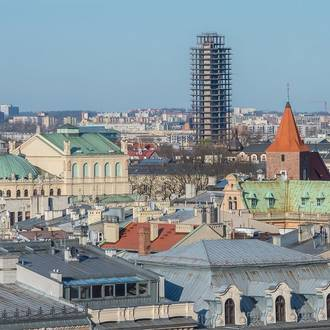 Najwyższe budynki Krakowa