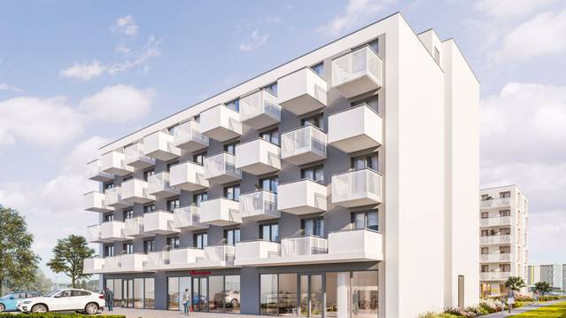 SASKA BLU - lokale inwestycyjne z wykończeniem