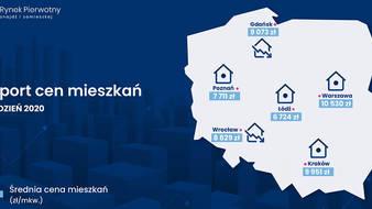 Ceny mieszkań - grudzień 2020
