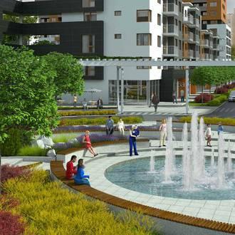 Przestrzeń wspólna na nowych osiedlach