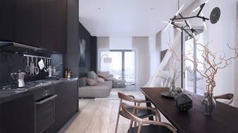 Mieszkanie open space