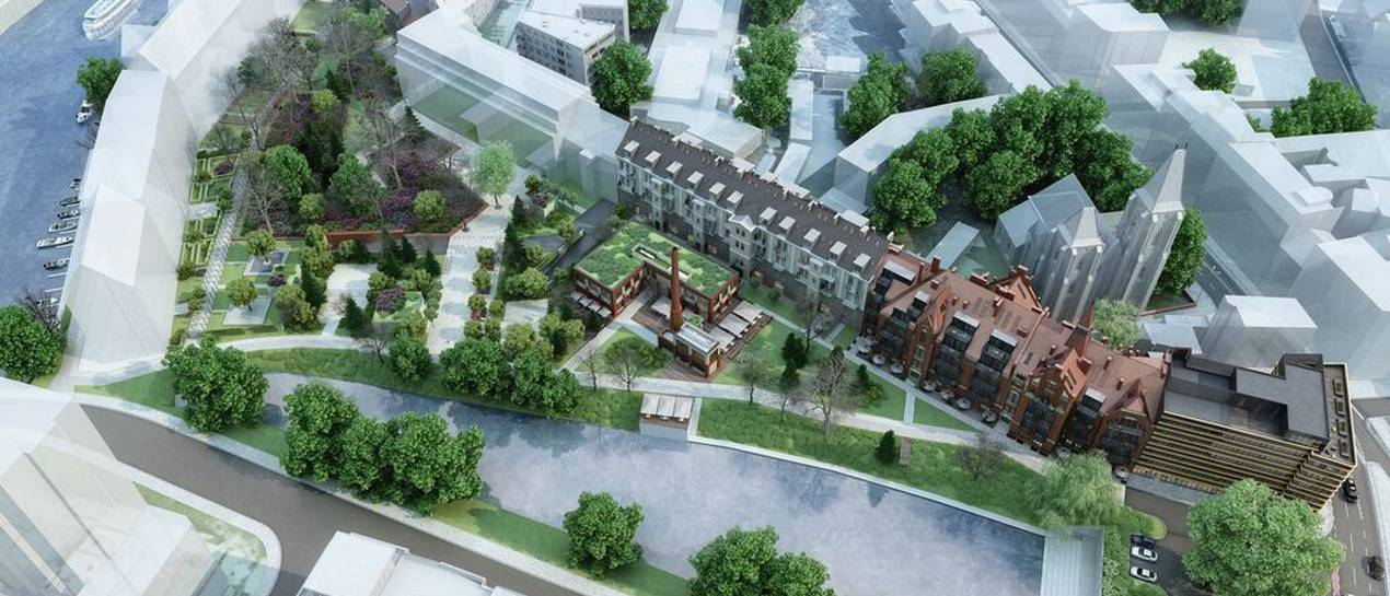 """""""Lofty przy fosie"""" na Bulwarze Staromiejskim – luksusowe apartamenty na miarę od i2 Development"""