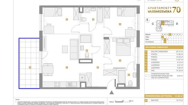 Apartamenty Włodarzewska 70