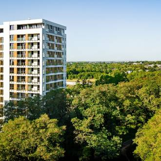 Powstaje czwarty budynek Red Parku. Zobacz mieszkania!