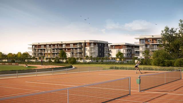 Olimpijskie Ogrody Budynek F, G, H i J