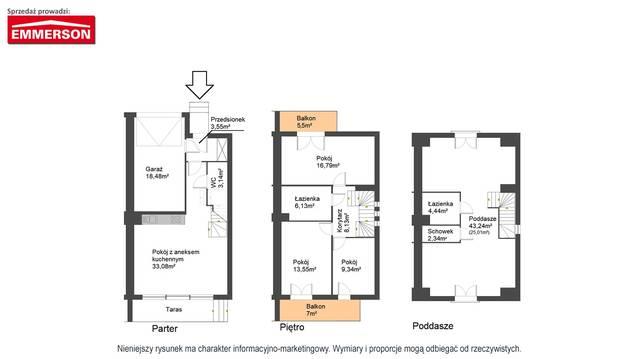 Piltza 16 - Domy w mieście - III etap