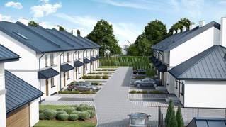 Zielona Dąbrowa 2 domy - II etap