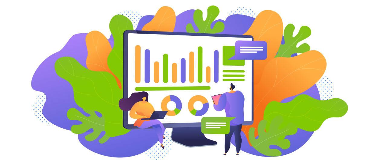 Panele informacyjne w Google Analytics
