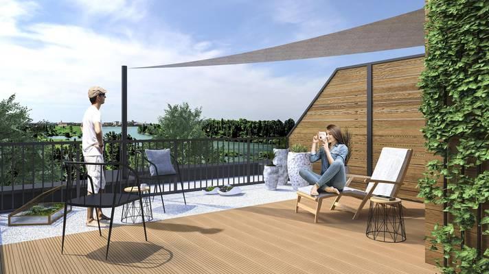 Apartamenty Jarowa the roof garden