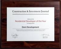 Residential Developer of the Year 2015