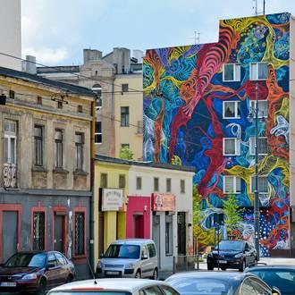Łódź – miasto murali