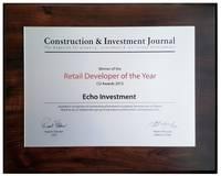 CIJ Awards 2015 - Retail Developer of the Year