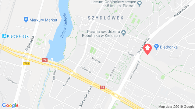 Parkowe Wzgórze Bocianek - Kielce
