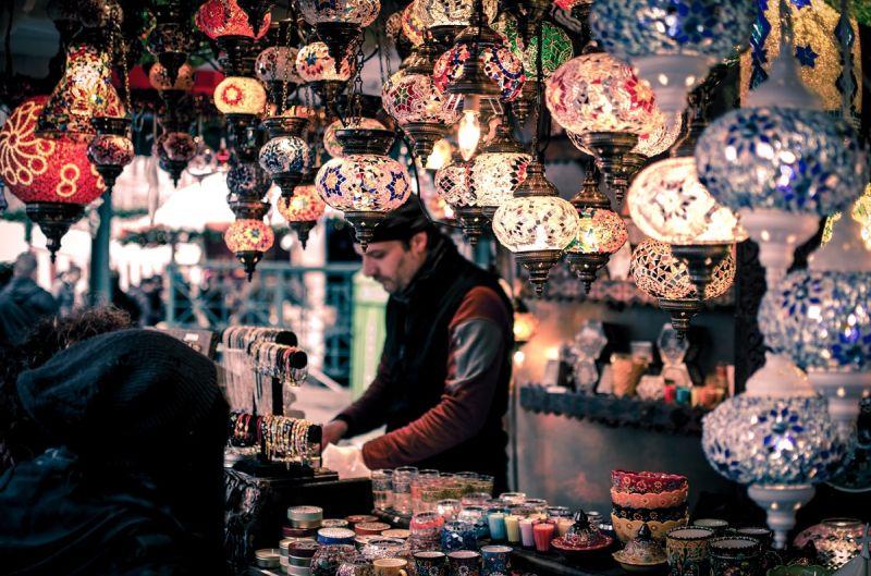 bazar w Maroku