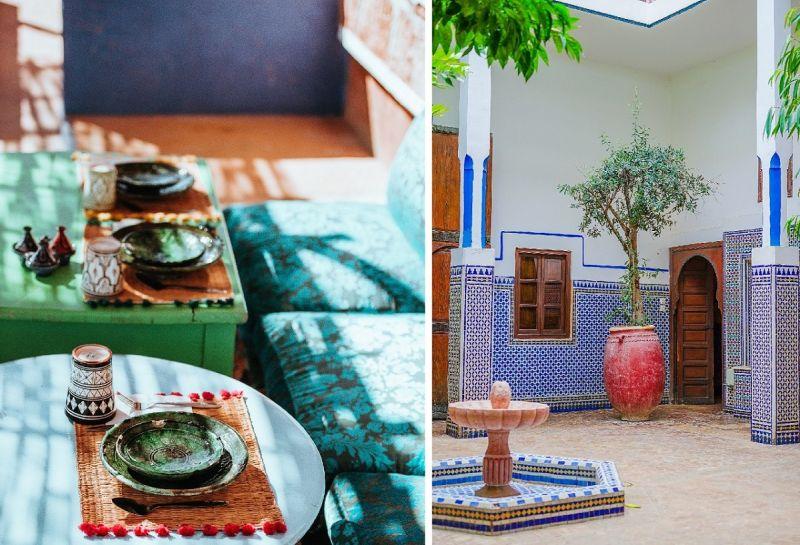 Maroko - kolory