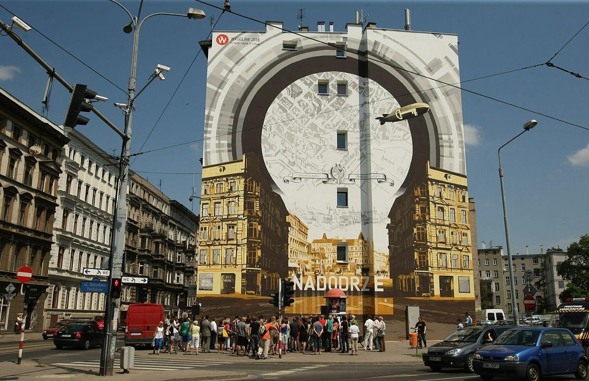 brama do Nadodrza mural