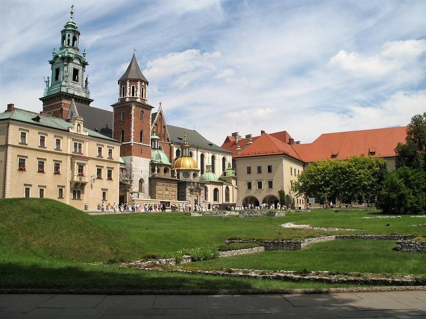 Zamek Wawelski w Krakowie