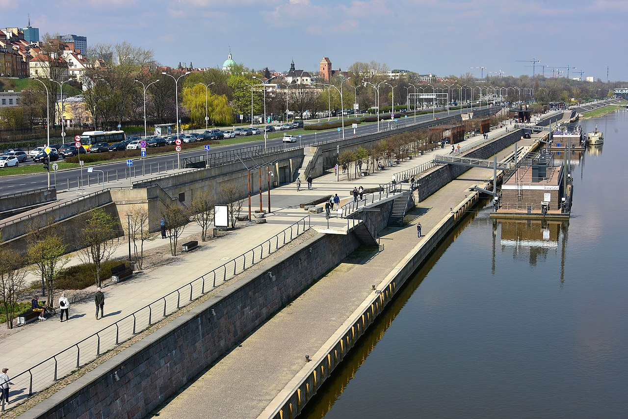 Modernizacja Bulwarów Wiślanych w Warszawie