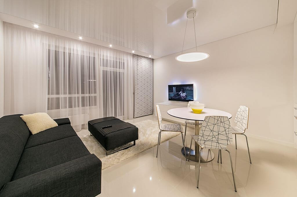 podwieszany sufit w mieszkaniu