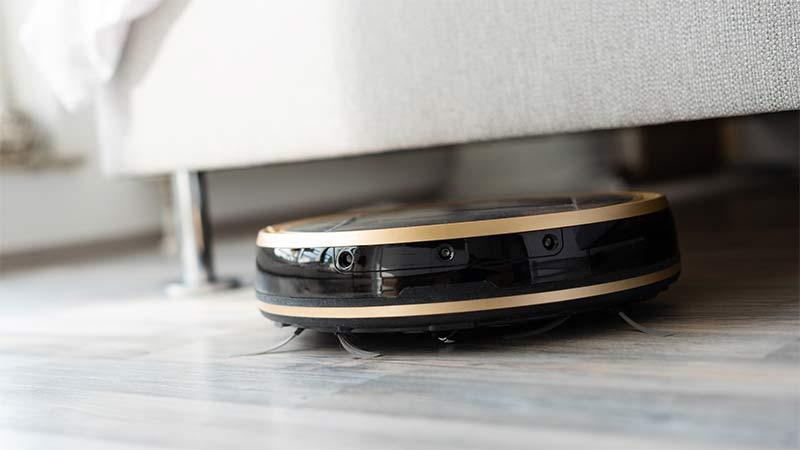 robot sprzątający - czujniki