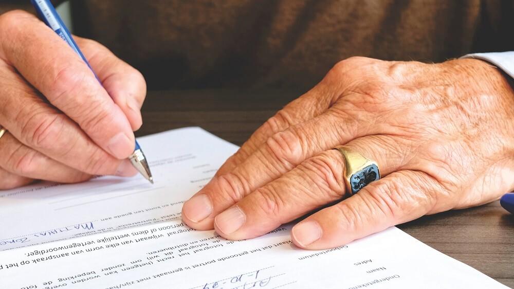 podpisywanie dokumentów kredytowych