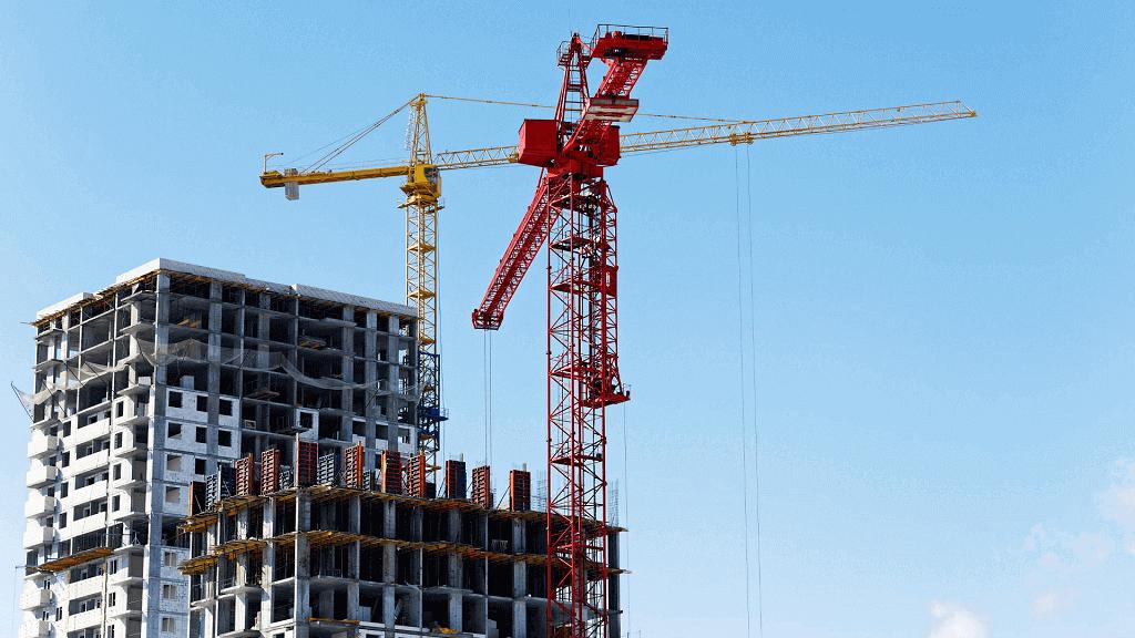 spadek nowych inwestycji budowlanych