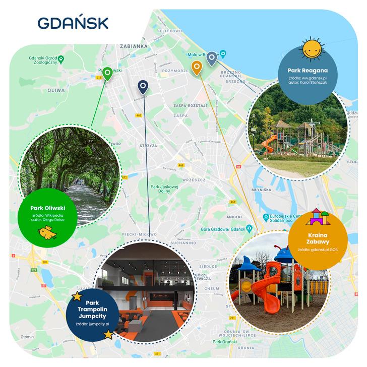 mapa - Gdańsk przyjazny dzieciom