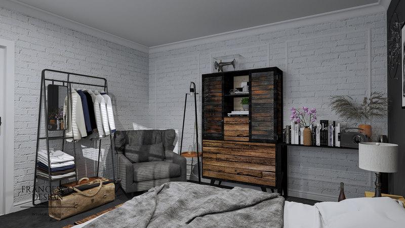 Sypialnia na niewielkim metrażu