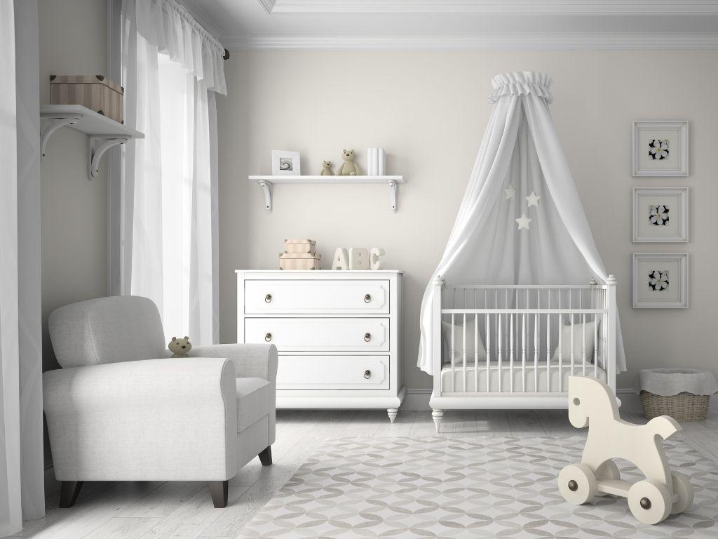 Pokój dziecięcy urządzony z myślą o bezpieczeństwie dziecka