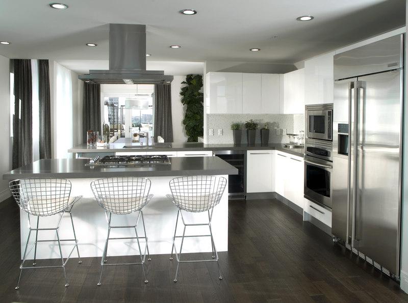 Wyspa kuchenna - nowoczesna aranżacja