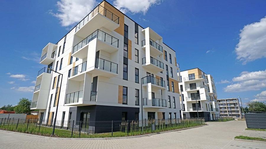 Osiedle Ja_sielska w Poznaniu - inwestycja wybudowana z prefabrykatów