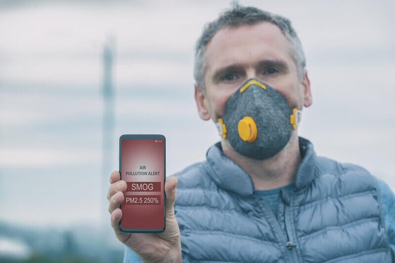 Smog - aplikacja mobilna