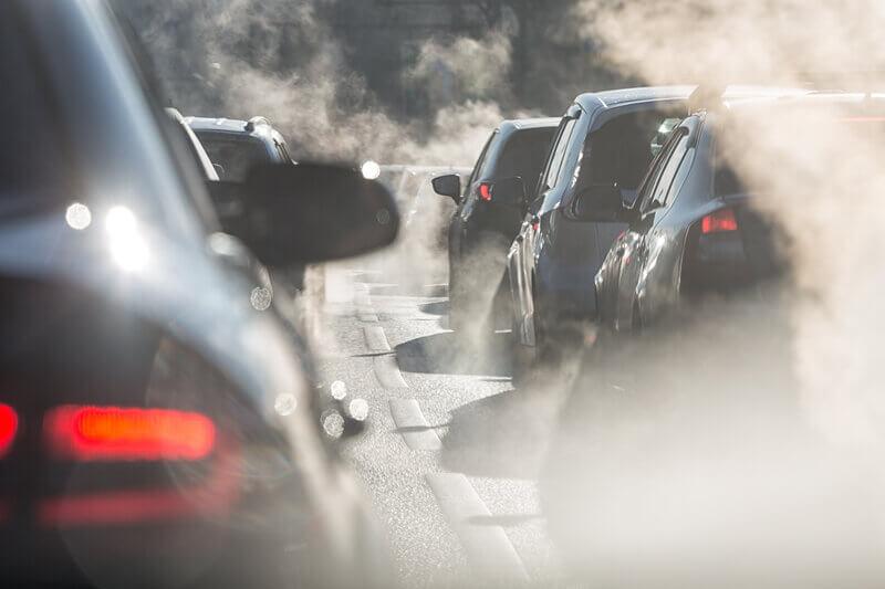Zanieczyszczenia powietrza - spaliny