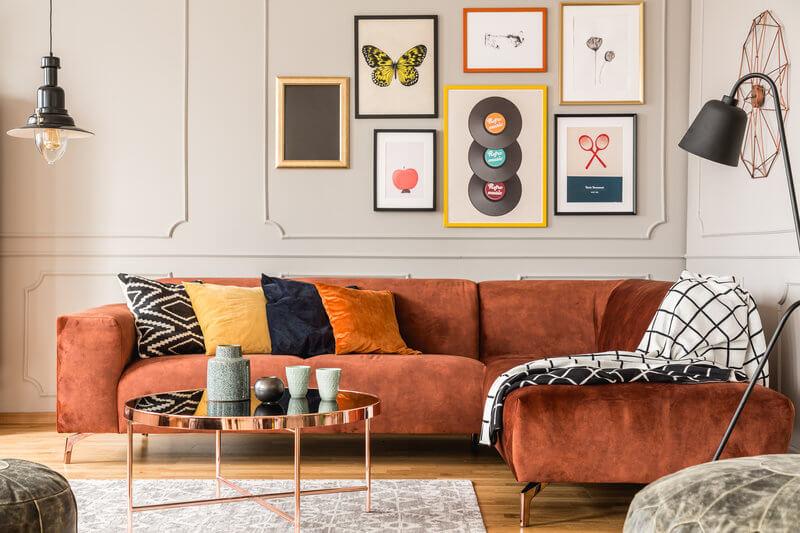 aranżacja mieszkania w stylu eklektycznym
