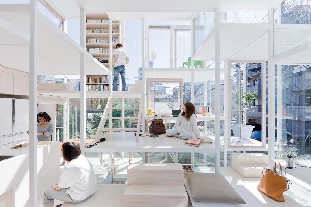 Przezroczysty Dom w Tokio