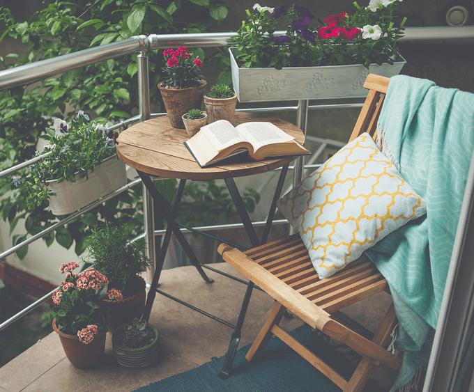 składane meble na balkon