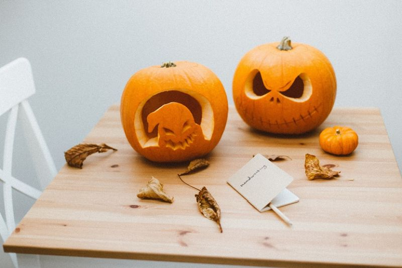 Dynia - wzory halloweenowe