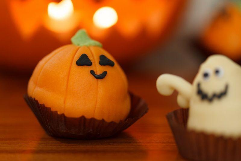 Halloween - dekoracja stołu