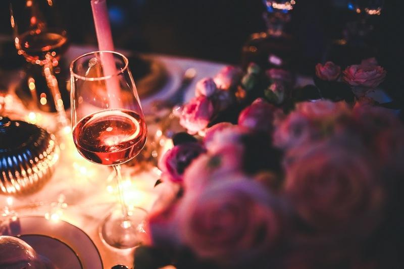 Walentynkowy stół