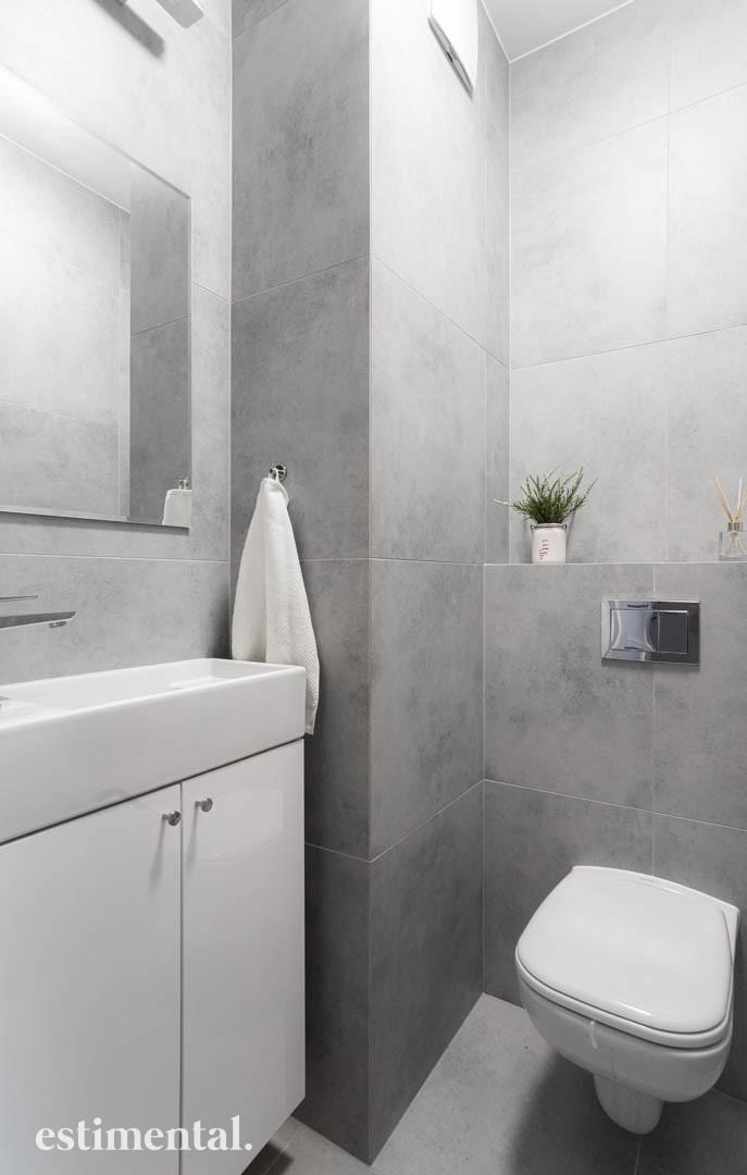 Mała łazienka - projekt
